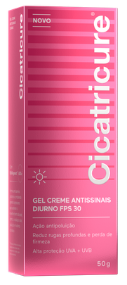 Cicatricure® Gel Creme Facial Antissinais Diurno FPS30